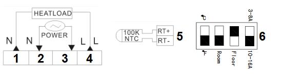 Diagrama de conectare de bază