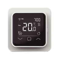 e-HEAT WiFi Klokthermostaat C16-thermostaat (inbouw) | RAL 9010 Wit
