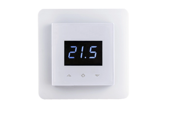 Z-Wave Domotica Control Z-Wave thermostaat (inbouw) | RAL 9003 Wit - afb. 1